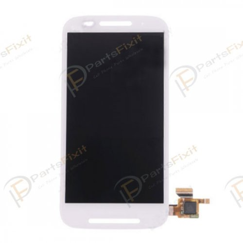For Motorola Moto E XT1022 LCD Screen and Digitizer Assembly White