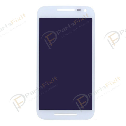 For Moto G3 LCD and Digitizer Assembly White