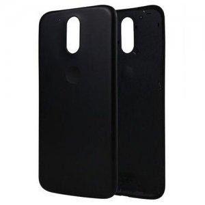 Battery Cover for Motorola Moto G4 Black