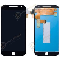 For Moto G4 LCD with Digitizer Assembly Black