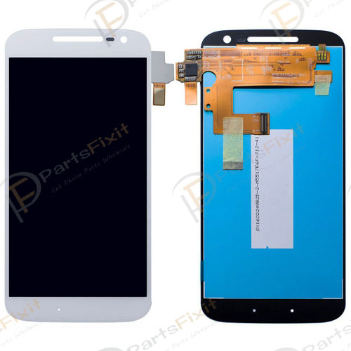 For Moto G4 LCD with Digitizer Assembly White