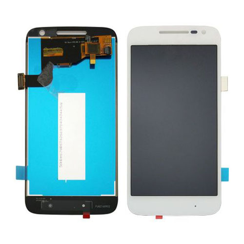 Screen Replacement for Motorola Moto G4 Play White...