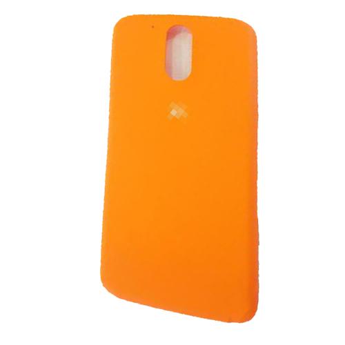 Battery cover for Motorola Moto G4 Plus Orange