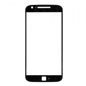 Front Glass Lens for Motorola G4 Plus Black