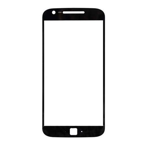 Front Glass Lens for Motorola G4 Plus Black