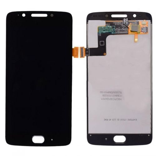 Screen Replacement for Motorola Moto G5 Black Third Party