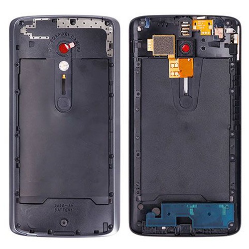 Middle Frame for Motorola Moto X Play Black