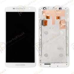 For Moto X Play XT1562 XT1561 XT1563 LCD with Frame Assembly White