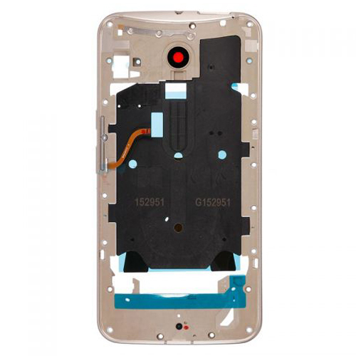 Middle Frame for Motorola Moto X Style Gold