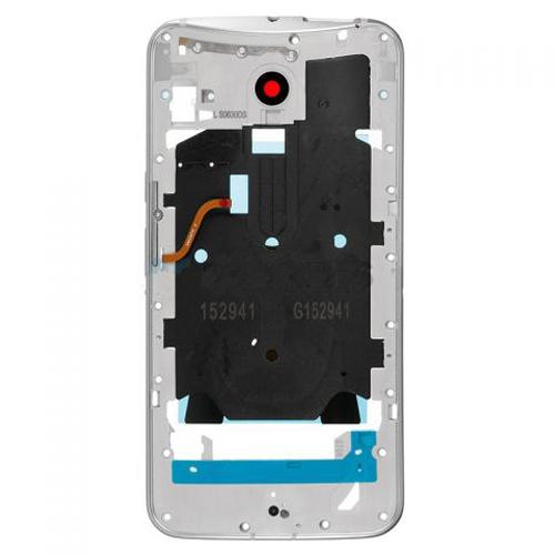 Middle Frame for Motorola Moto X Style White