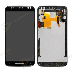 For Motorola Moto X Style XT1572 XT1570 XT1575 LCD with Frame Black