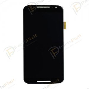 For Moto X2 X + 1 LCD with Digitizer Assembly Black