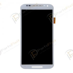 For Moto X2 X+1 LCD with Digitizer Assembly White