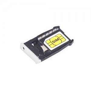 SIM Card Tray for Motorola X2 XT1085/XT1096/XT1097 Silver