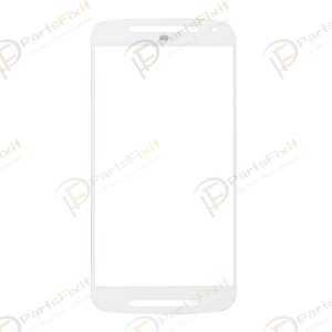 For Motorola Moto G XT1032 Front Glass Lens White