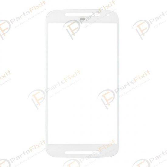 For Motorola Moto G XT1032 Front Glass Lens White