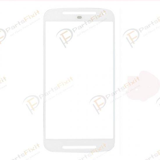For Motorola Moto X2 XT1095 Front Glass Lens White