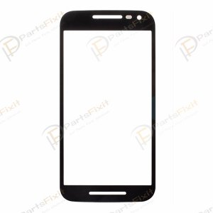 For Motorola Moto G3 Front Glass Lens Black