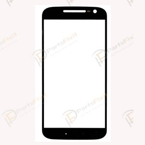 For Motorola Moto G4 Front Glass Lens Black