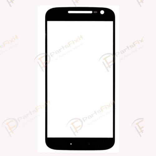 For Motorola Moto G4 Front Glass Lens Black