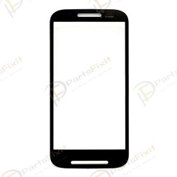 For Motorola Moto E XT1022 Front Glass Lens Black