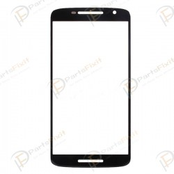 For Motorola Moto X Play XT1562 XT1561 Front Glass Len Black