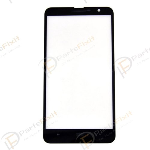 Front Glass Lens for Lumia 1320 Black