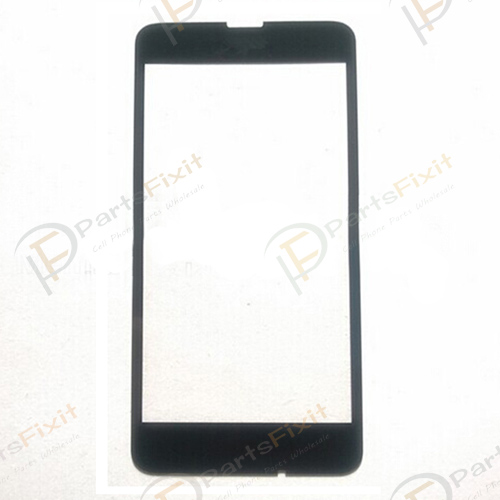 Front Glass Lens for Lumia 630 Black