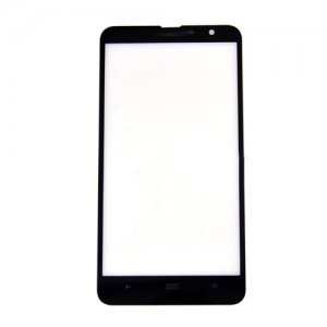 Front  Glass Lens for Nokia Lumia 1320 Black