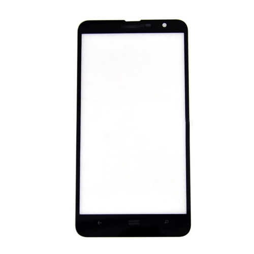 Front  Glass Lens for Nokia Lumia 1320 Black