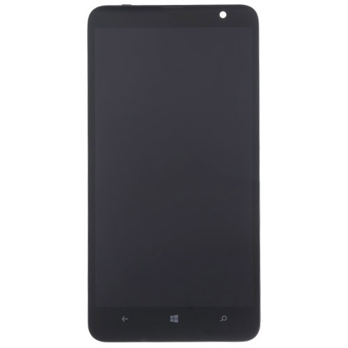 LCD Screen with Frame  for Nokia Lumia 1320 Black
