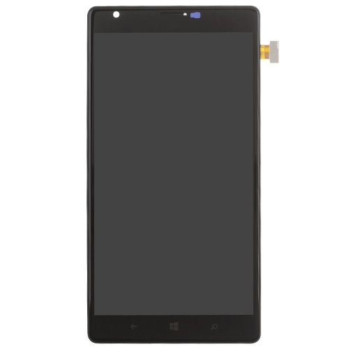 LCD with Frame  for Nokia Lumia 1520 Black