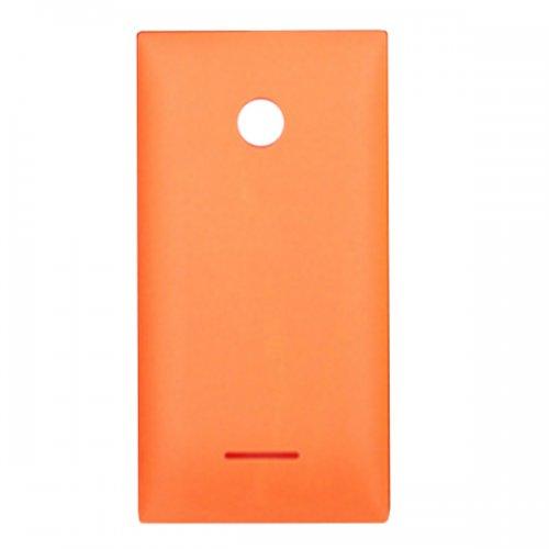 Battery Cover for Nokia Microsoft Lumia 435 Orange