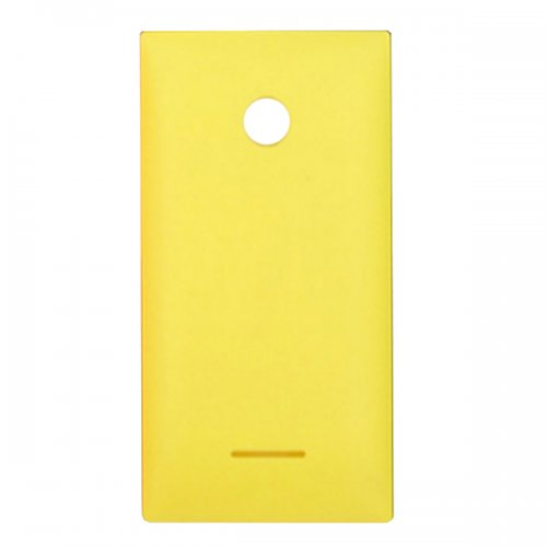 Battery Cover for Nokia Microsoft Lumia 435 Yellow