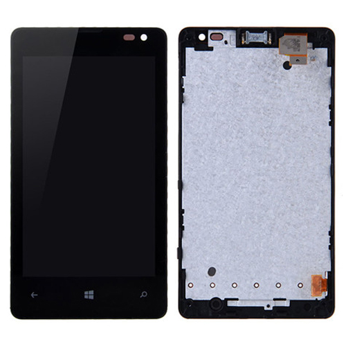 LCD  Digitizer  Assembly for Nokia Lumia 435 Black