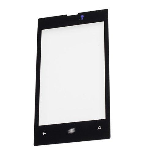 Glass Lens for Nokia Lumia 520 Black