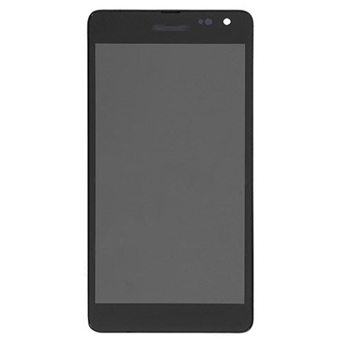LCD Screen  with Frame for Microsoft Nokia Lumia 535 Black