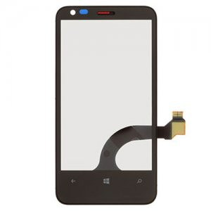 Digitizer with Frame for Nokia Lumia 620 Black