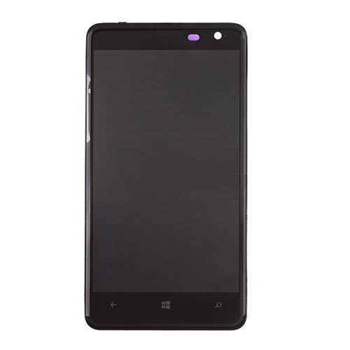 LCD Screen with Frame for Nokia Lumia 625 Black
