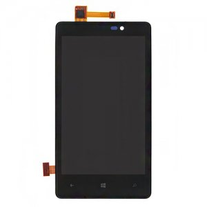 LCD Screen and Digitizer Assembly with Bezel For Nokia Lumia 820