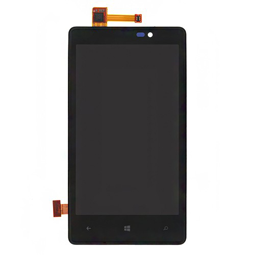 LCD Screen and Digitizer Assembly with Bezel For N...