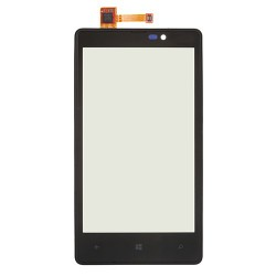 Touch Screen Digitizer with Frame for Nokia Lumia 820 Black
