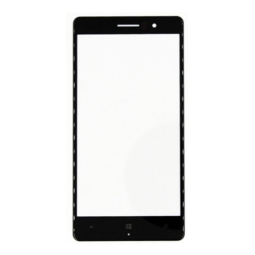 Front Glass Lens for Nokia Lumia 830 Black