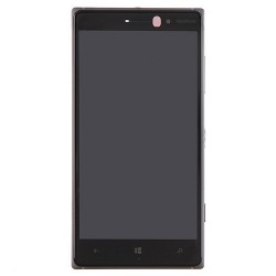 LCD Screen with Frame for Nokia Lumia 830 Black