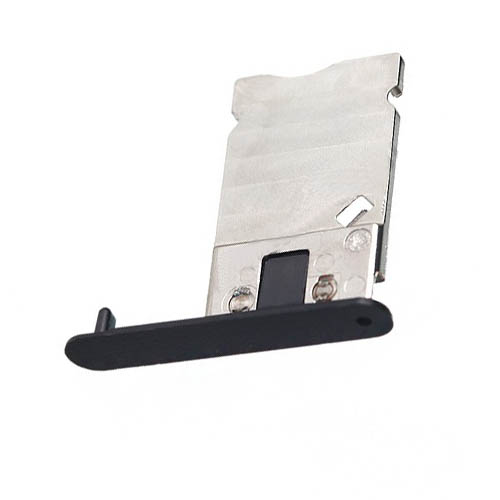 SIM Card Tray For Nokia Lumia 900 Black