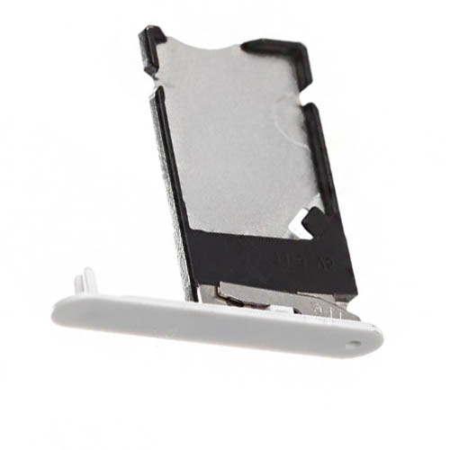 SIM Card Tray For Nokia Lumia 900 White