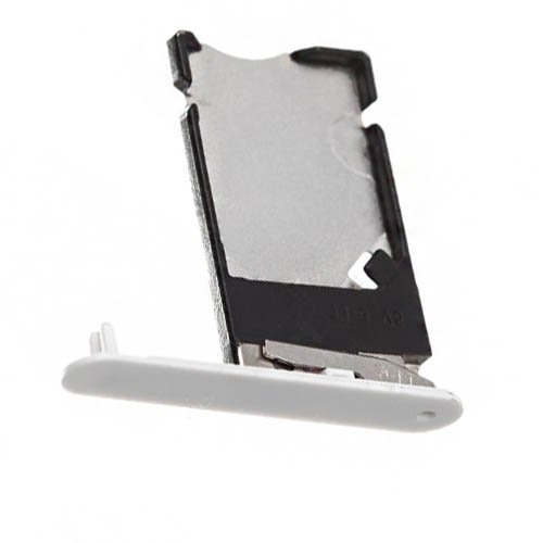 SIM Card Tray For Nokia Lumia 900 White