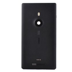 Battery Cover with Wireless Charging Flex Cablefor Nokia Lumia N925 Black