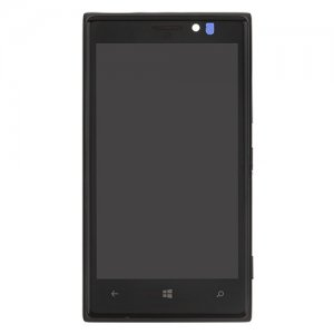 LCD with Frame for Nokia Lumia 925 Black