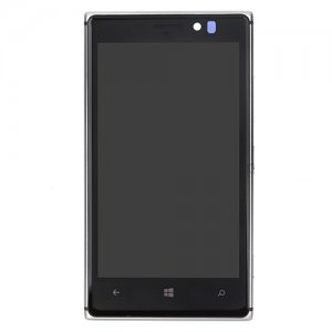 LCD with Frame for Nokia Lumia 925 Silver